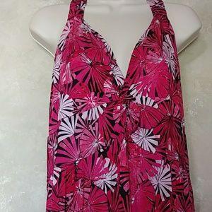 🎆🆕 NWT Allison Brittney Pink Maxi Size 2X